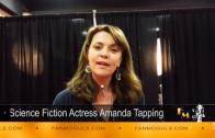 Fan Moguls TV: Amanda Tapping's 'Shout-out' to FAN MOGULS